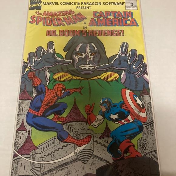 Rare Spiderman comic book in good condition